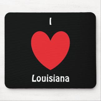 I Heart Louisiana Mousepad