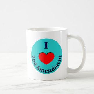 I Heart (Love) 2nd Amendment Coffee Mug
