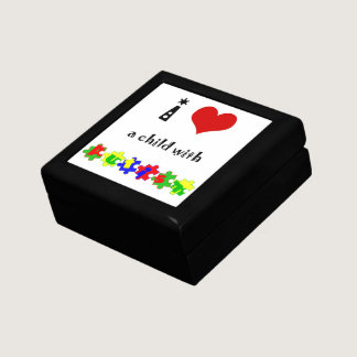I Heart (Love) a Child with Autism Gift Box