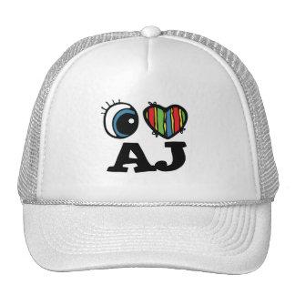 I Heart (Love) AJ Trucker Hat