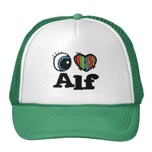 I Heart (Love) Alf Trucker Hat
