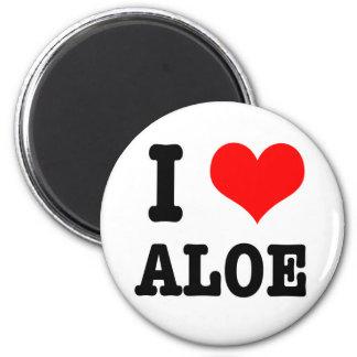 I HEART (LOVE) ALOE MAGNET