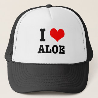 I HEART (LOVE) ALOE TRUCKER HAT