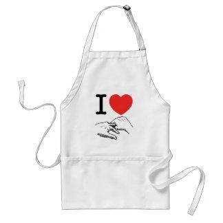 I Heart (Love) Anal Adult Apron