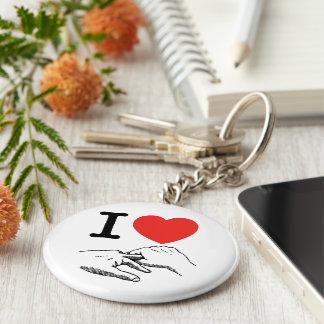 I Heart (Love) Anal Basic Round Button Keychain
