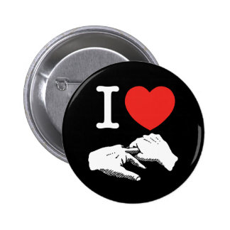 I Heart (Love) Anal Pinback Buttons