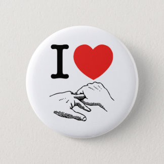 I Heart (Love) Anal Button
