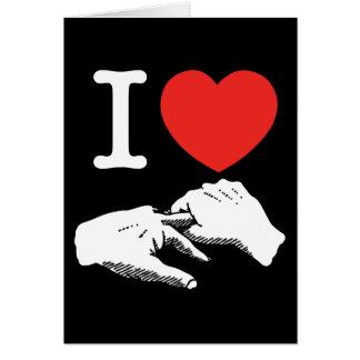 I Heart (Love) Anal Card