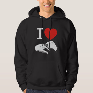 I Heart (Love) Anal Hooded Sweatshirt