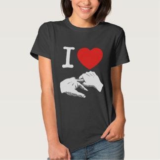 I Heart (Love) Anal Tee Shirt