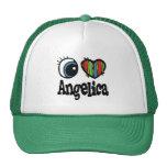 I Heart (Love) Angelica Mesh Hat