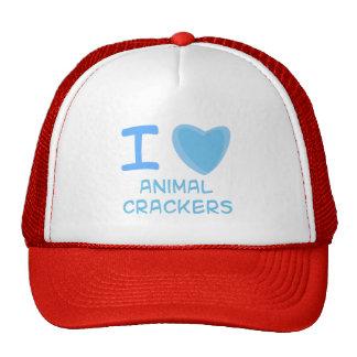 I Heart (Love) animal crackers Trucker Hat