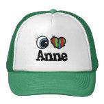 I Heart (Love) Anne Trucker Hat