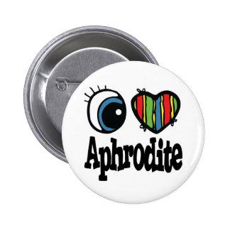 I Heart (Love) Aphrodite Pinback Button