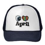 I Heart (Love) April Hat