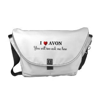 I heart / love Avon, you will too, ask me how Messenger Bag