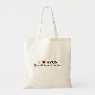 I heart / love Avon, you will too, ask me how Tote Bag