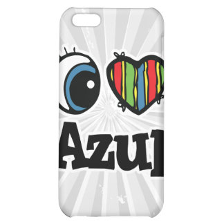 I Heart (Love) Azul iPhone 5C Cover