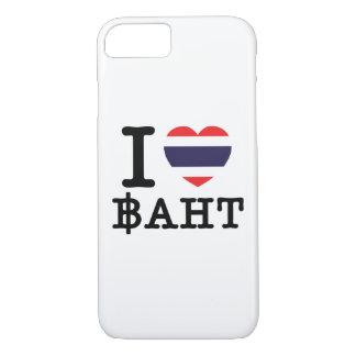 I Heart (Love) Baht iPhone 7 Case
