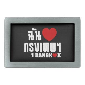 I Heart (Love) Bangkok [Krung Thep] Belt Buckle