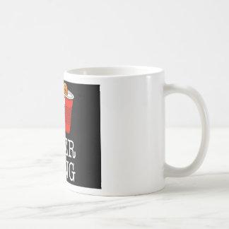 I Heart / Love beer pong Coffee Mug