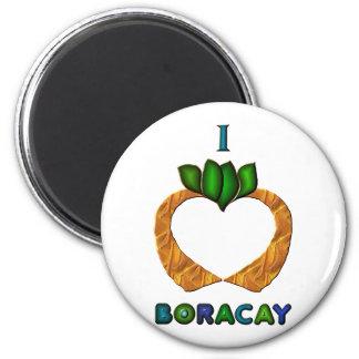 I Heart (Love) Boracay Magnet