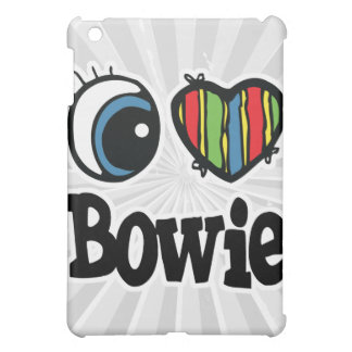 I Heart (Love) Bowie Case For The iPad Mini