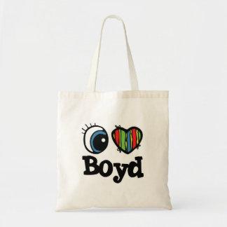 I Heart (Love) Boyd Budget Tote Bag