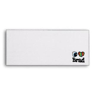 I Heart (Love) Brad Envelopes