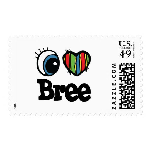 I Heart (Love) Bree Stamps