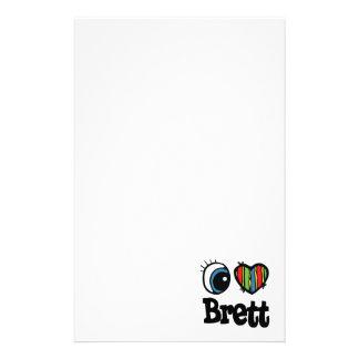 I Heart (Love) Brett Stationery