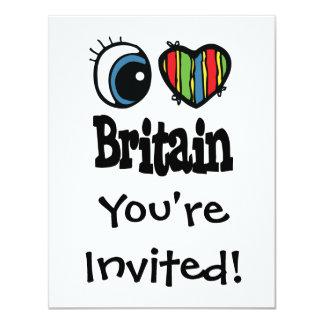 I Heart (Love) Britain Card