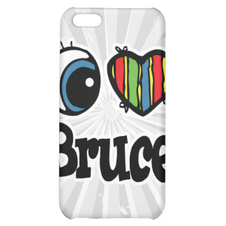 I Heart (Love) Bruce iPhone 5C Cases