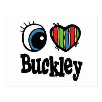 I Heart (Love) Buckley Postcard