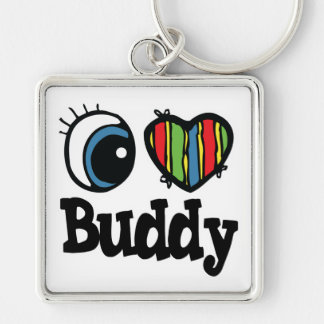 I Heart (Love) Buddy Keychain