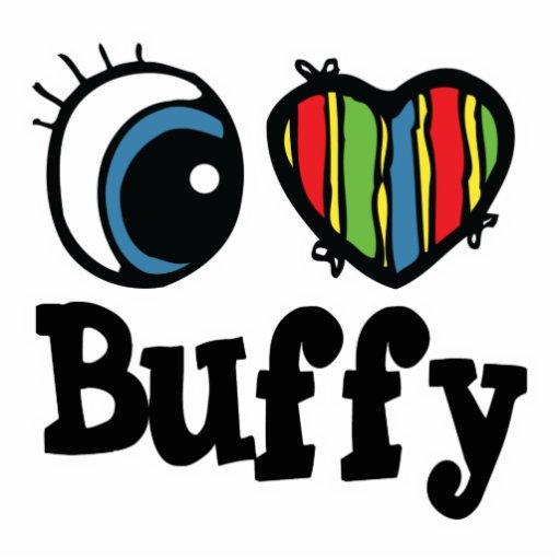 I Heart (Love) Buffy Cut Outs