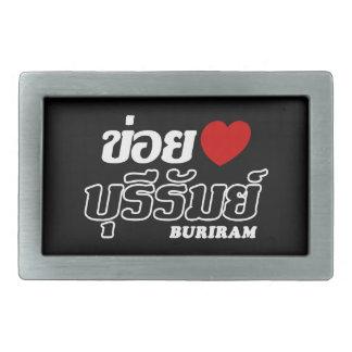 I Heart (Love) Buriram, Isan, Thailand Belt Buckle