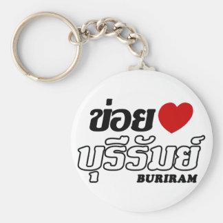 I Heart (Love) Buriram, Isan, Thailand Key Chain