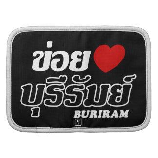 I Heart (Love) Buriram, Isan, Thailand Folio Planners