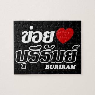 I Heart (Love) Buriram, Isan, Thailand Jigsaw Puzzles