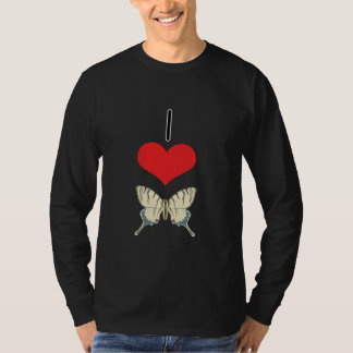 I Heart (Love) Butterflies T-Shirt