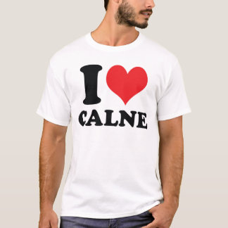 I Heart / love calne T-Shirt