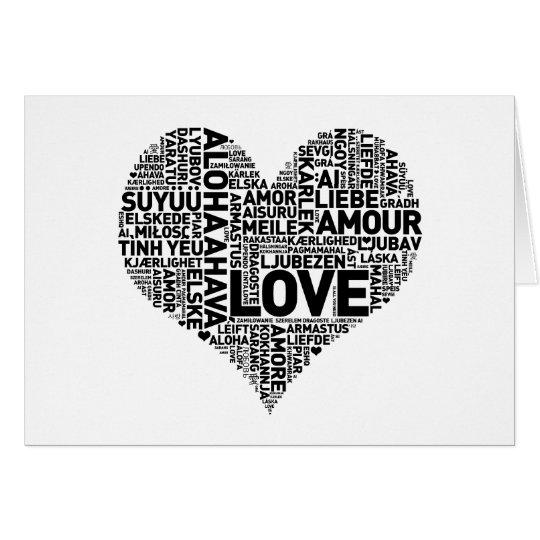 I HEART LOVE CARD