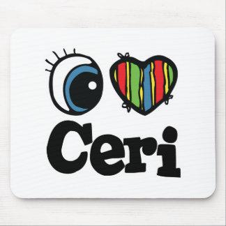 I Heart (Love) Ceri Mouse Pad