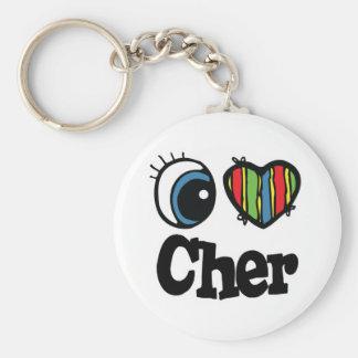 I Heart (Love) Cher Keychain