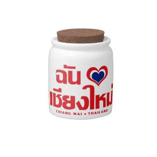 I Heart (Love) Chiang Mai ❤ Thailand Candy Jar