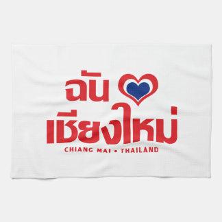 I Heart (Love) Chiang Mai ❤ Thailand Hand Towel