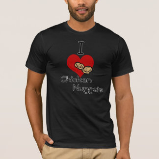 I heart-love chicken nuggets T-Shirt