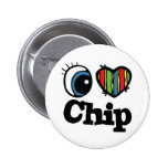 I Heart (Love) Chip Pin