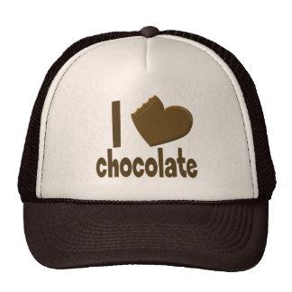 I Heart Love Chocolate Hats